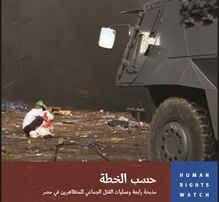 حسب الخطة , مذبحة رابعة وعمليات القتل الجماعى للمتظاهرين فى مصر