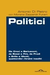 Antonio Di Pietro, Morena Zapparoli Funari - Politici