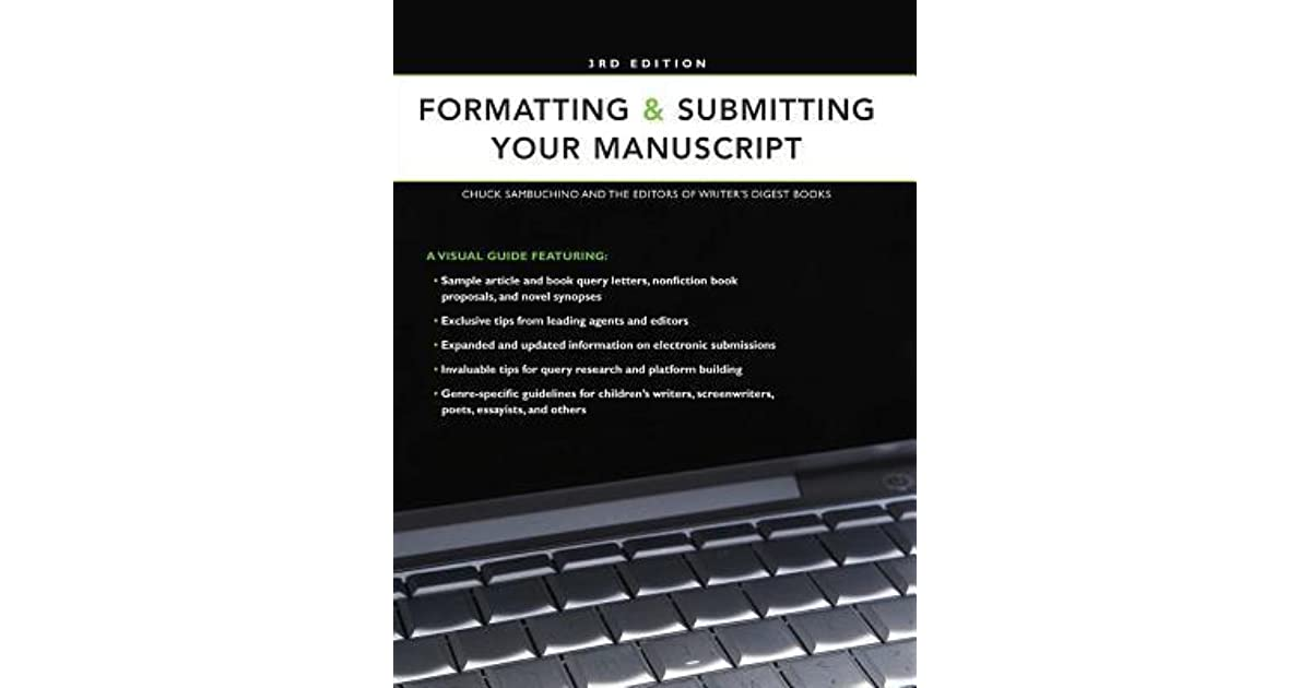 Formatting submitting your manuscript by writers digest books spiritdancerdesigns Gallery