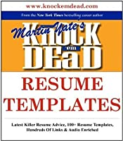 Knock Em Dead Resume Templates Plus 110 The
