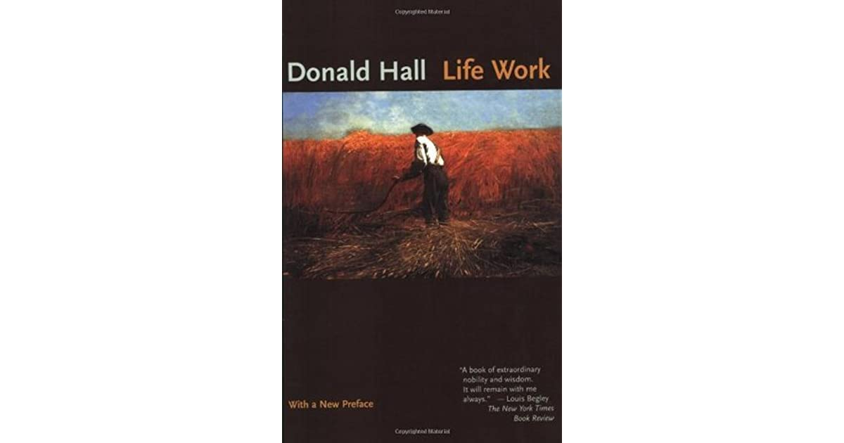 a book analysis of writing well by donald hall Writing well by donald hall starting at $099 writing well has 10 available editions to buy at half price books marketplace.