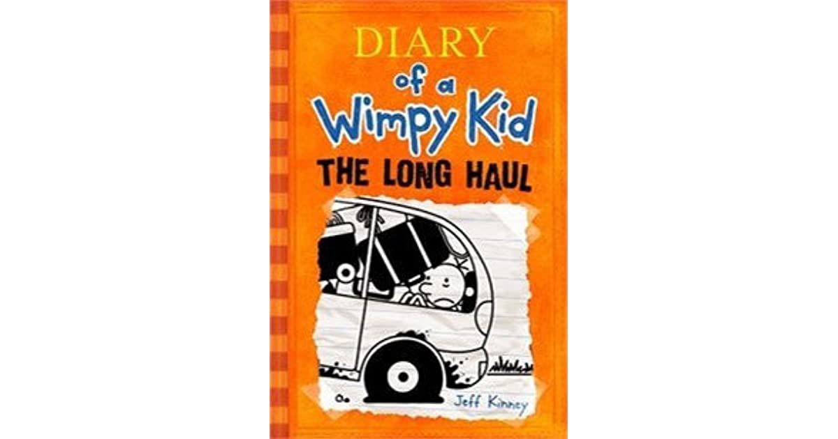 diary of a wimpy kid long haul book review