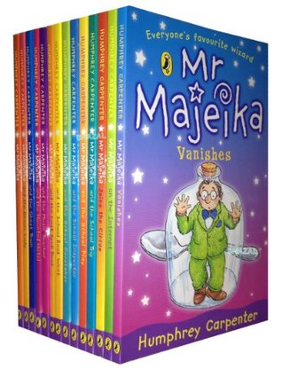 Mr Majeika Collection 14 Books Set (Mr Majeika,the School Trip,Mr Majeika and the Lost Spell Book,the Ghost Train, the Dinner Lady, the School Caretaker, the Music Teacher, the Haunted Hotel, the School Book Week, the Internet,..)
