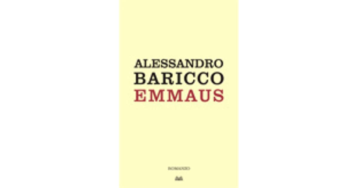 BARICCO EMMAUS EPUB DOWNLOAD