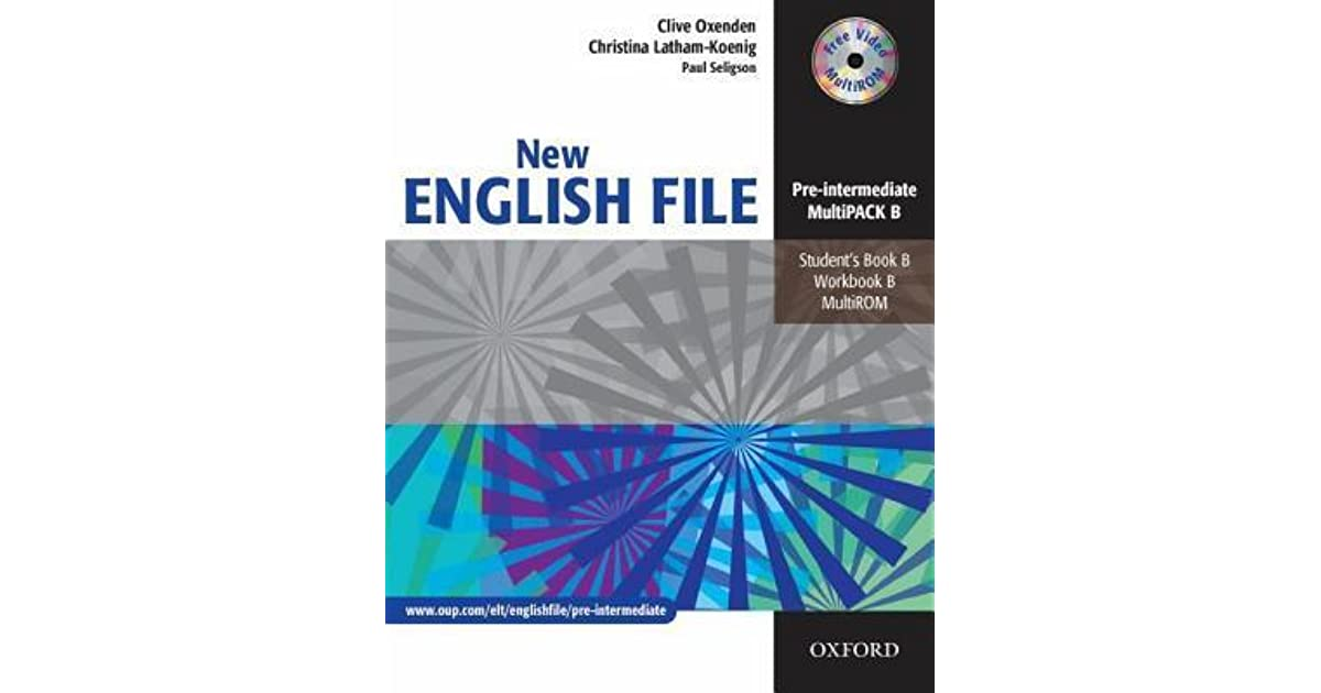New english file pre intermediate multipack b by clive oxenden fandeluxe