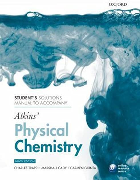 physical chemistry atkins solution manual 9e ebook