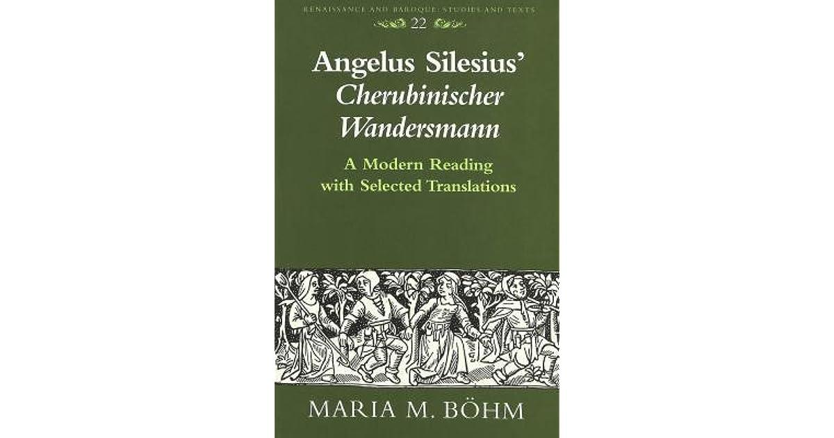 angelus silesius cherubinischer wandersmann