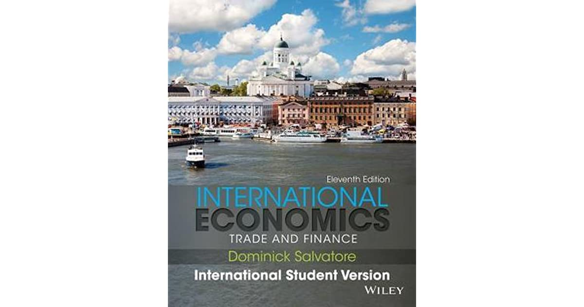 International economics trade and finance by dominick salvatore fandeluxe Image collections