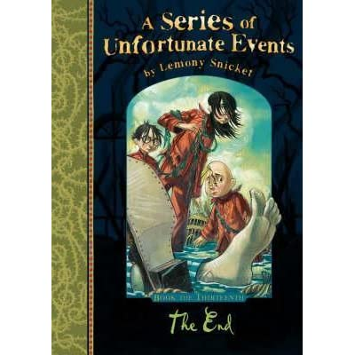 The end a series of unfortunate events 13 by lemony for Bureau 13 book series