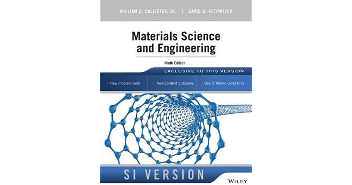 Material Science And Engineering By Callister Pdf