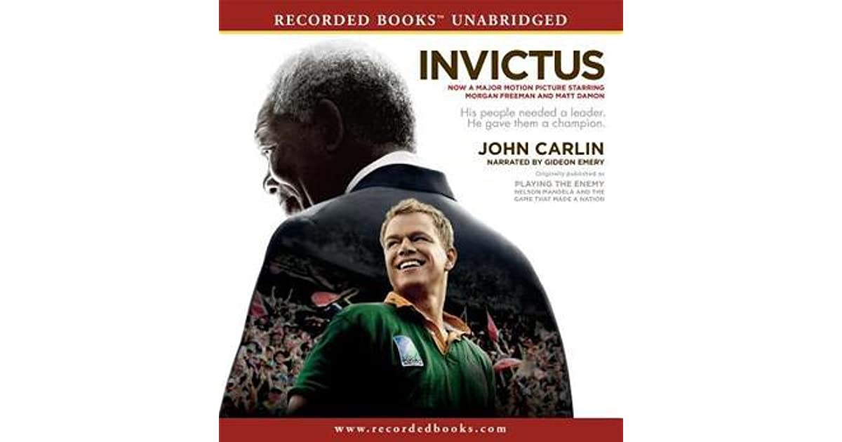 """review of john carlins invictus Ett av de mest känslosamma avsnitten i john carlins bok är när  kan man inom parentes sagt se exempel på i clint eastwoods film """"invictus  africa review."""