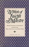 The Works of Joseph de Maistre