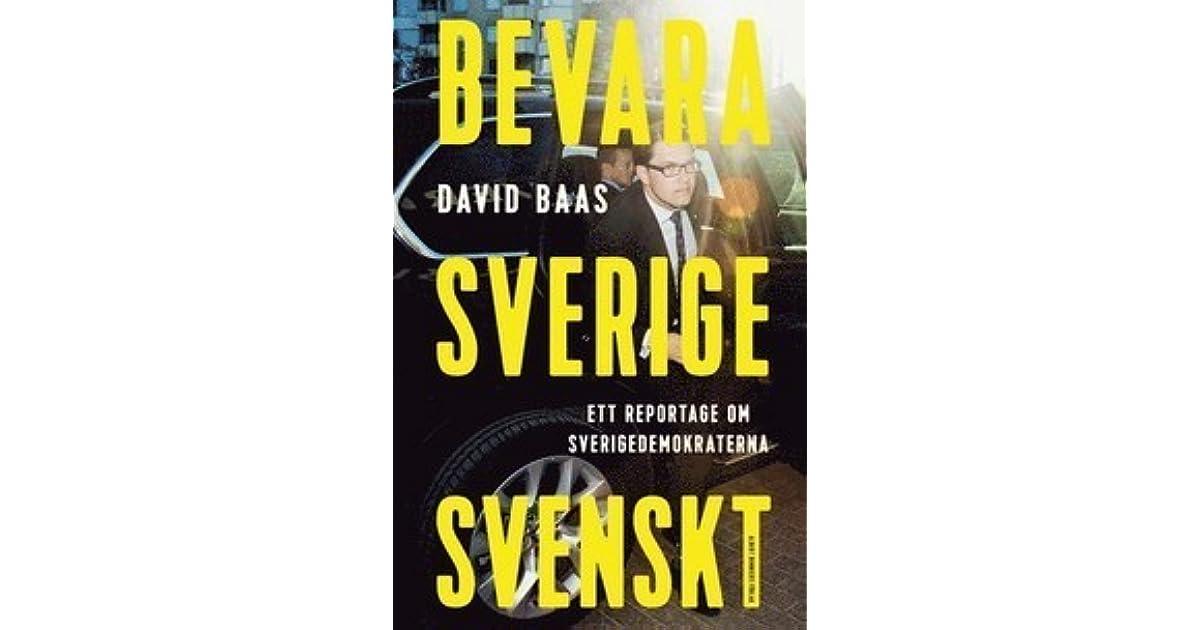 David baas skriver bok om sd