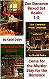 Zoe Donovan Boxed Set Books 1-3 (Zoe Donovan Mystery #1-3)