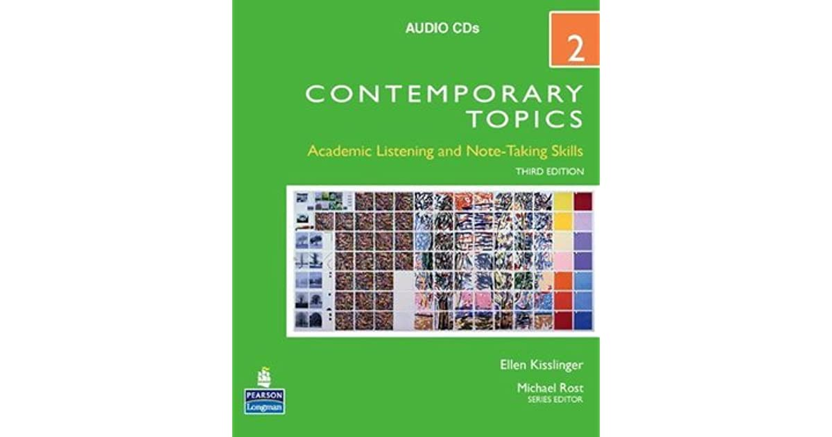 Contemporary topics 2 audio cds by ellen kisslinger fandeluxe Gallery