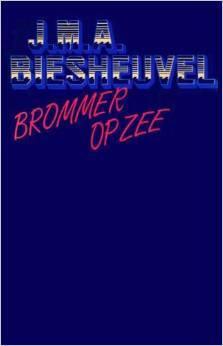 Brommer op zee by J.M.A. Biesheuvel