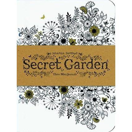 Secret Garden Three Mini Journals By NOT A BOOK