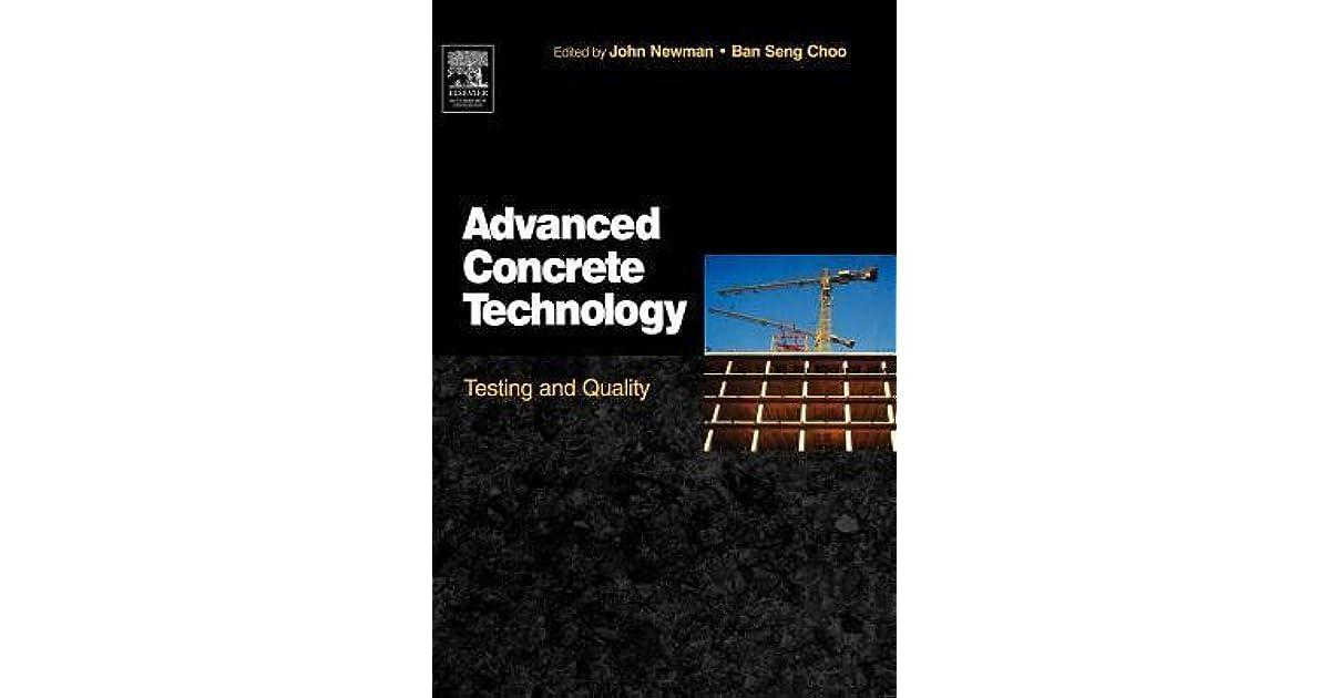 Advanced Concrete Technology Book