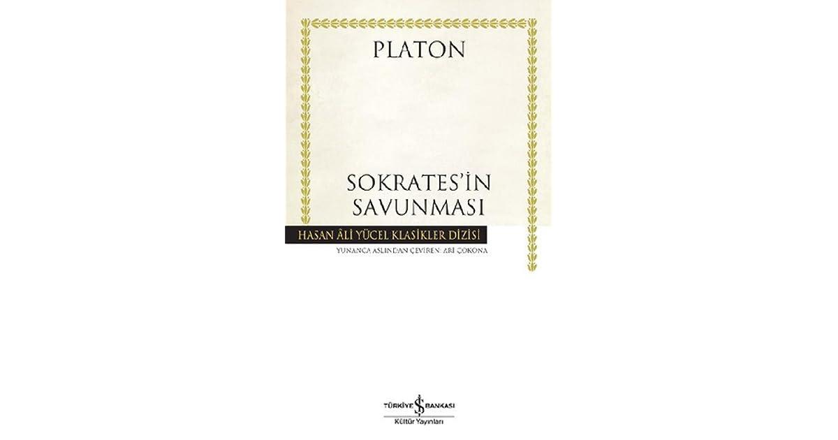 Sokratesin Savunması Euthyphron Apologia Kriton Phaidon By