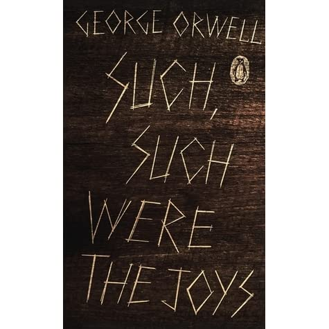 Such, Such Were the Joys was published as an extended essay, and was later released in book format.