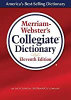 Merriam-Webster's Collegiate Dictionary (Laminated Cover)