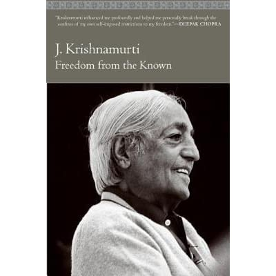 dom from the known by jiddu krishnamurti