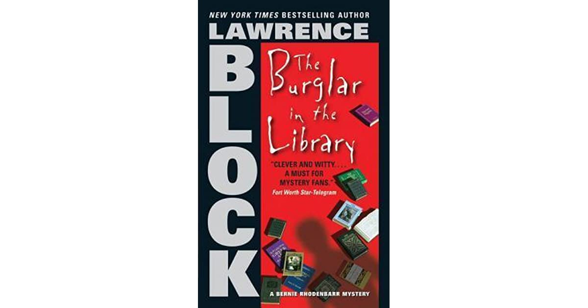 the burglar in the library block lawrence