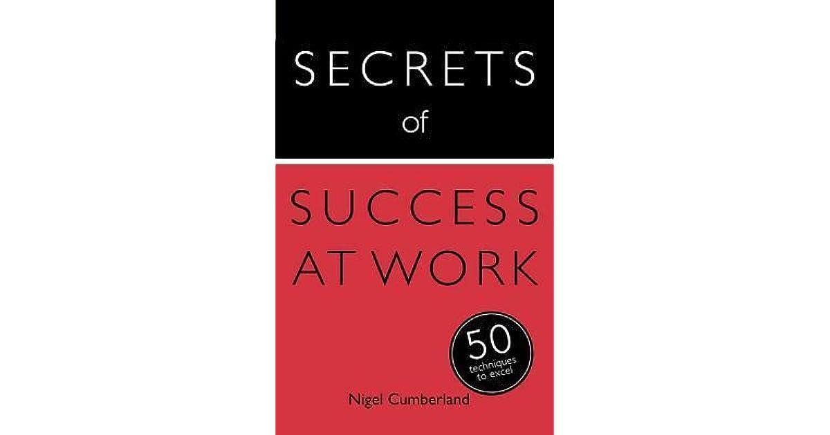 Secrets of Work Success