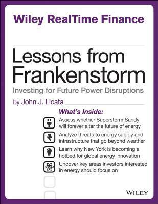 Lessons from Frankenstorm Investing for Future Power Disruption