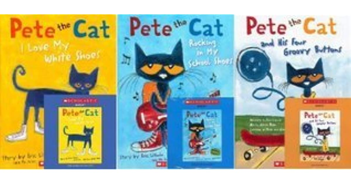 Pete the Cat and His Four Groovy Buttons May use to talk about