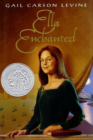"Book cover of ""Ella Enchanted"" by Gail Carson Levine"