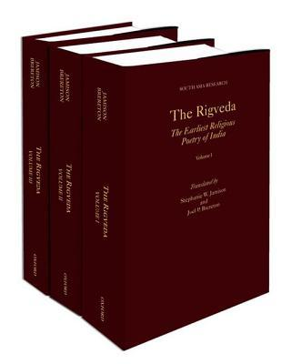 The Rigveda: The Earliest Religious Poetry of India (3 Volumes)