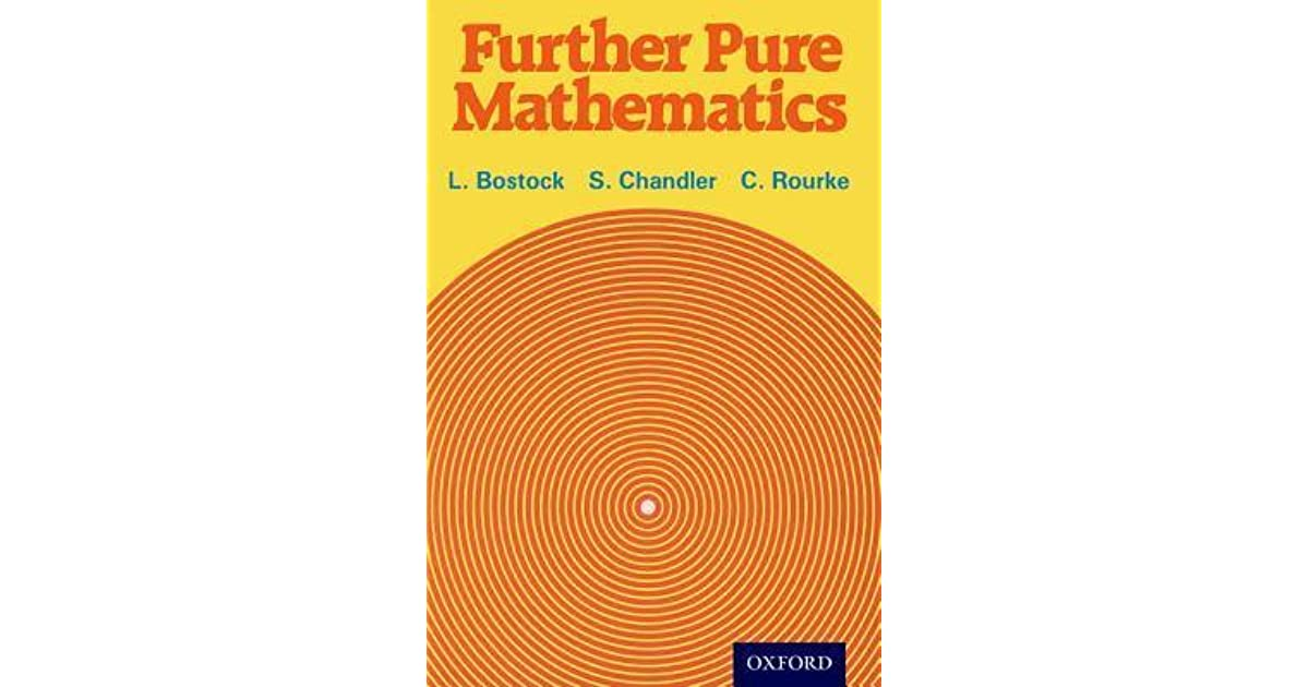 Further pure mathematics by linda bostock fandeluxe Image collections