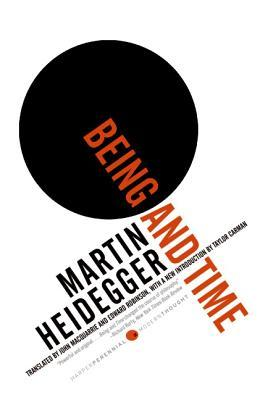 Cover of Being and Time by Martin Heidegger