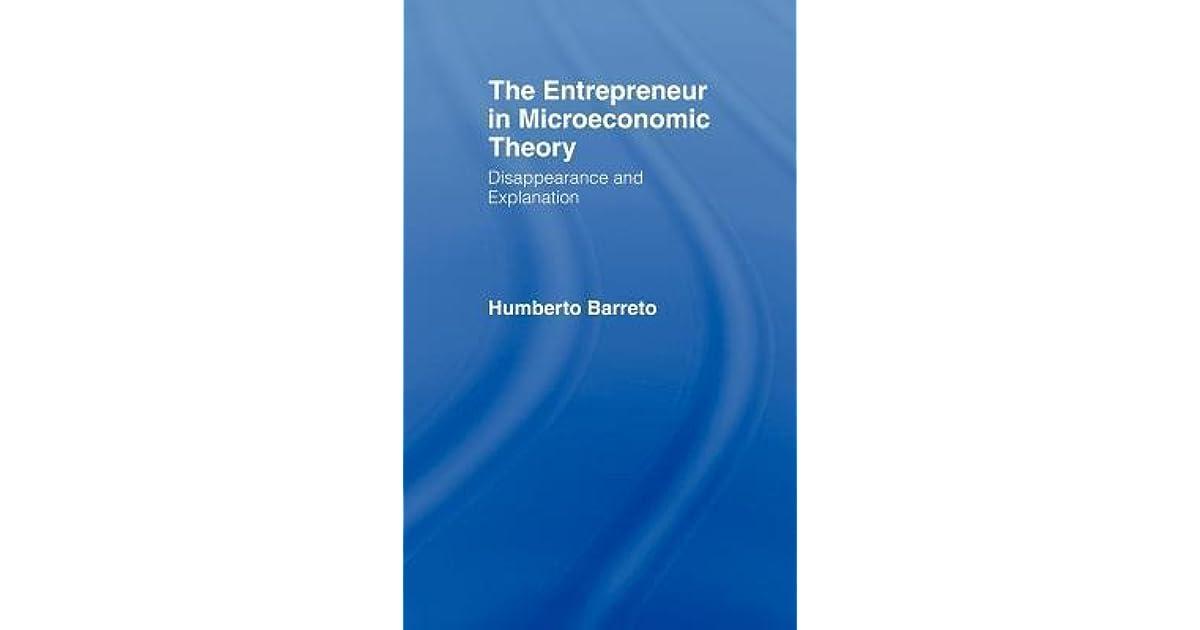 Towards an Interdisciplinary Theory of Entrepreneurship | SpringerLink