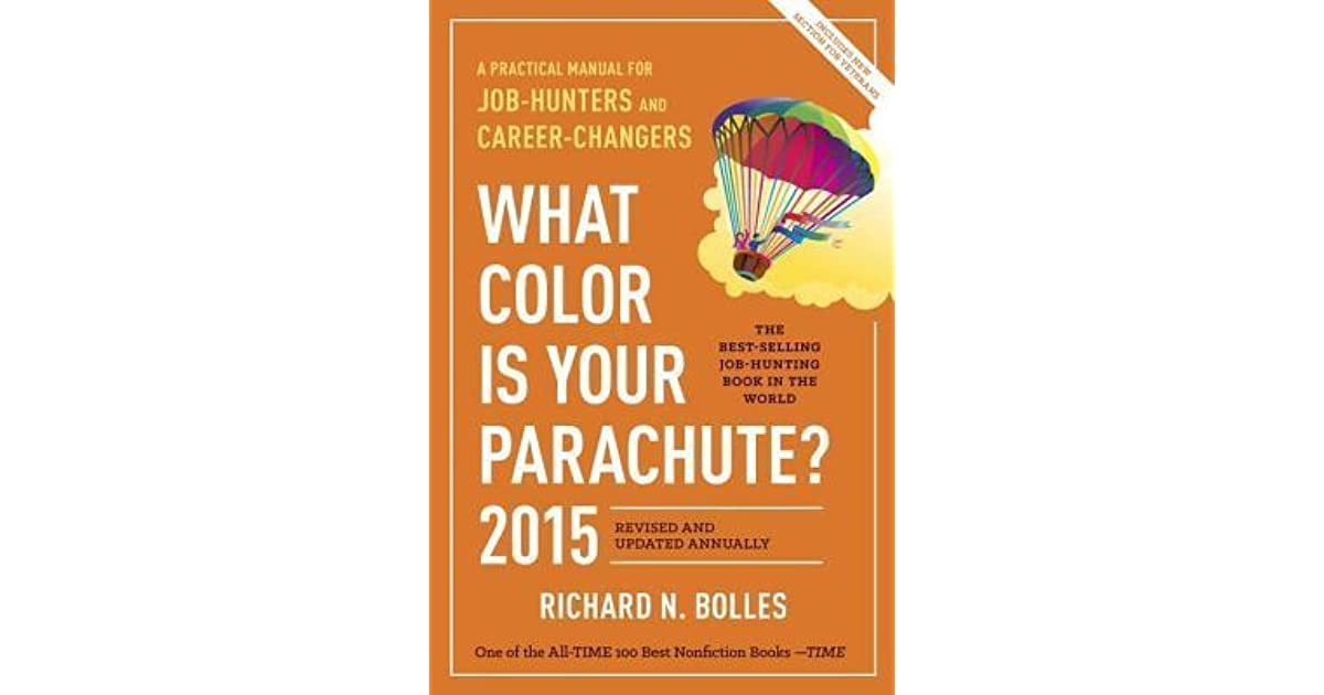 What Color Is Your Parachute 2015 by Richard N Bolles