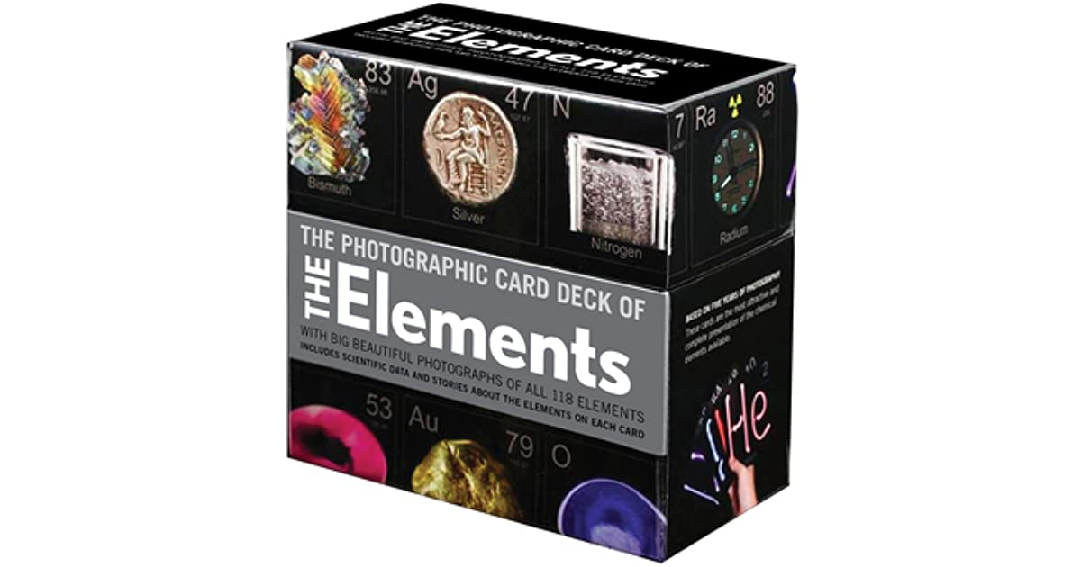 Photographic card deck of the elements with big beautiful photographic card deck of the elements with big beautiful photographs of all 118 elements in the periodic table by theodore gray urtaz Images