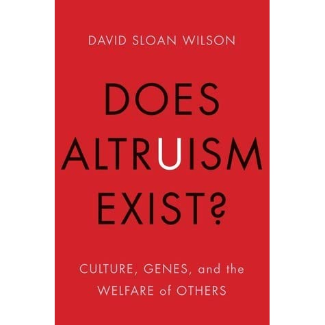 does true altruism exist essay True altruism does exist i have several arguments to start off these are situations in which a person is acting altruistically, without any selfish interest and for the benefit.