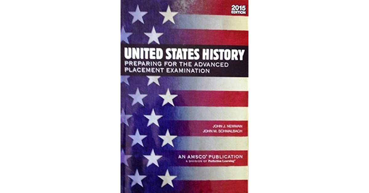 U S  History: Preparing for the Advanced Placement
