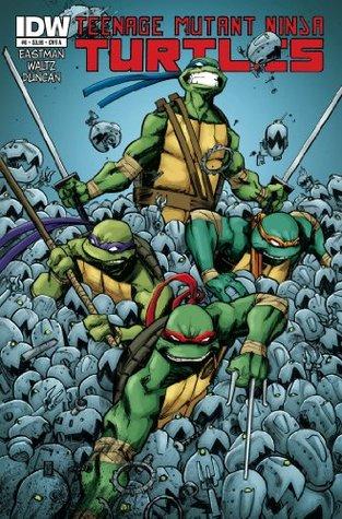 Teenage Mutant Ninja Turtles 8 By Tom Waltz