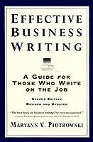 business writing scenarios pdf