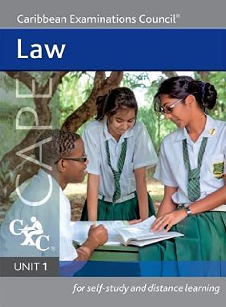 cape law unit 1 for self study and distance learning by caribbean rh goodreads com Unit 2 Chemistry Study Guide Apush Unit 2 Study Guide