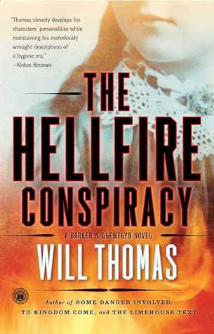 The Hellfire Conspiracy (Barker & Llewelyn, #4)