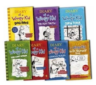 Diary Of A Wimpy Kid Book Set 1 6 Diy By Jeff Kinney