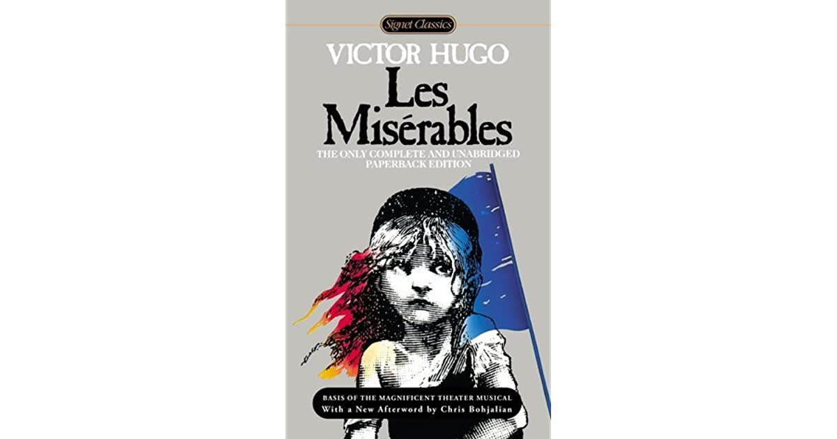 forgiveness self sacrifice and courage in les miserables by victor hugo