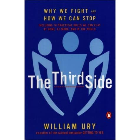 The third side why we fight and how we can stop by william ury fandeluxe Images