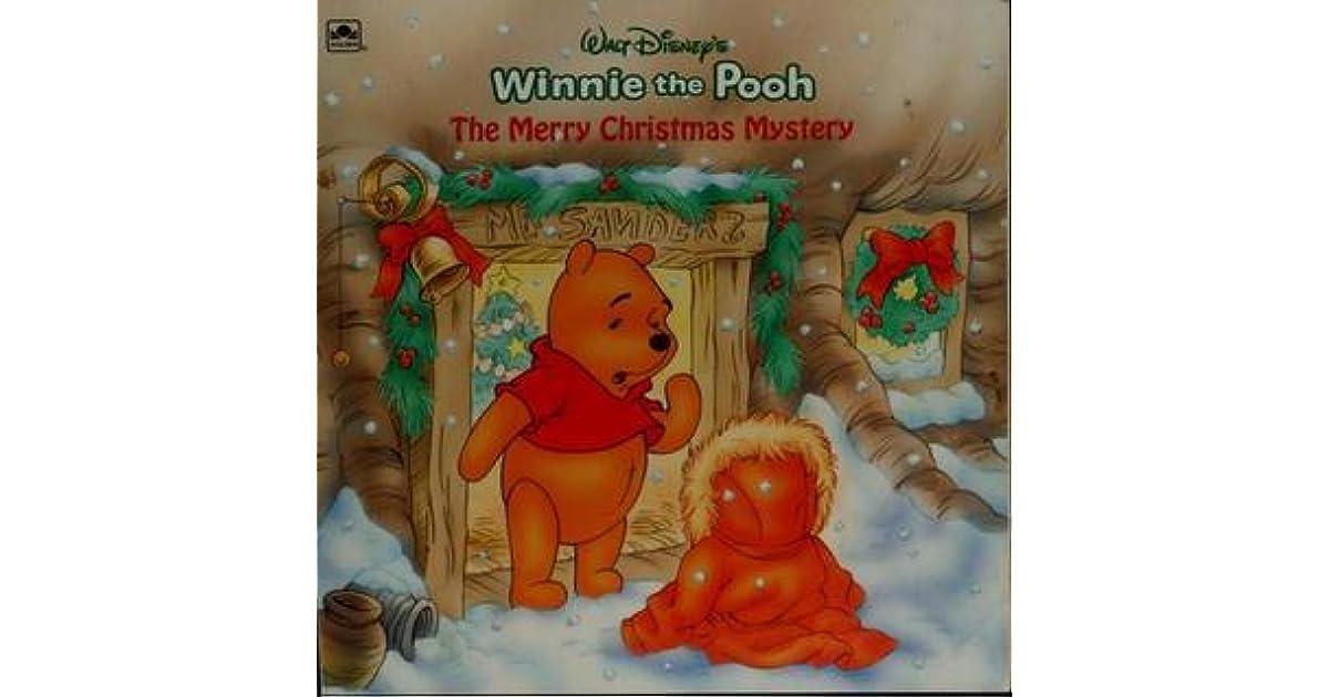 walt disney s winnie the pooh the merry christmas mystery by betty