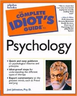 Book cover The complete idiot's guide to psychology