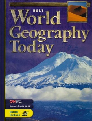 World Geography Today By Robert J Sager