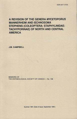 A Revision of the Genera Mycetoporus Mannerheim and Ischnosoma Stephens (Coleoptera: Staphylinidae: Tachyporinae) of North and Central America